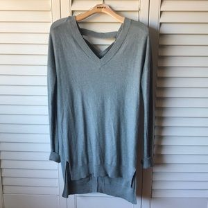 Green Gray Thin Sweater Dress 👗 Between me & you